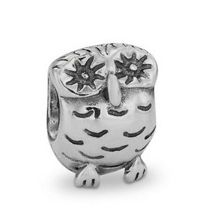 RETIRED OWL PANDORA CHARM